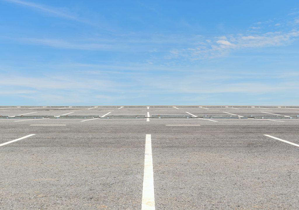 Parkplatz- und Großflächenreinigung